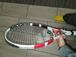 Babolat Pure strike 98 305g manico 2 16x19 Japan flag