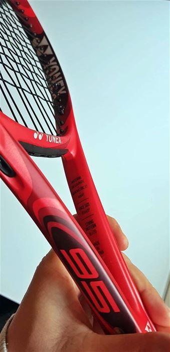 YONEX VCORE 95  310G  FLAME RED