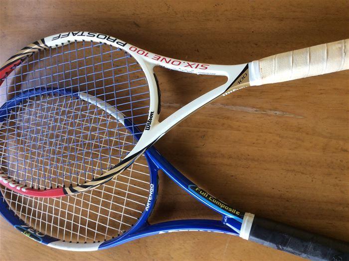 Due racchette tennis al prezzo di una