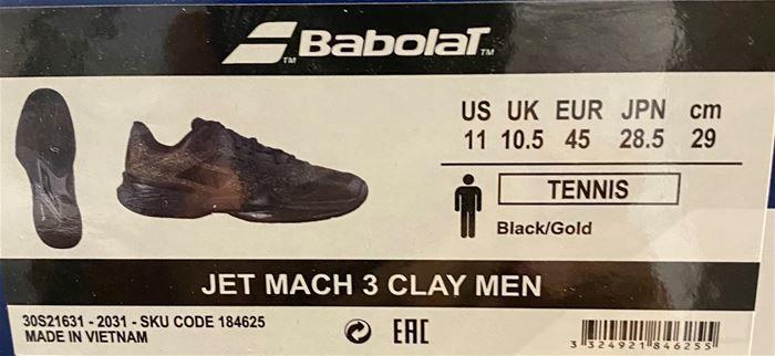 Vendo scarpe babolat