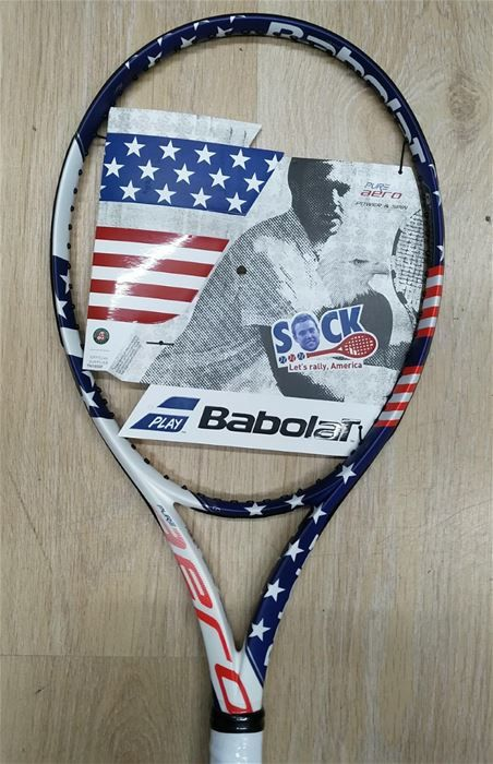 BABOLAT PURE AERO STAR AND STRIPES